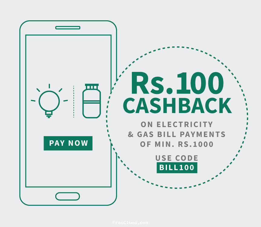 paytm offer code for electricity bill payment
