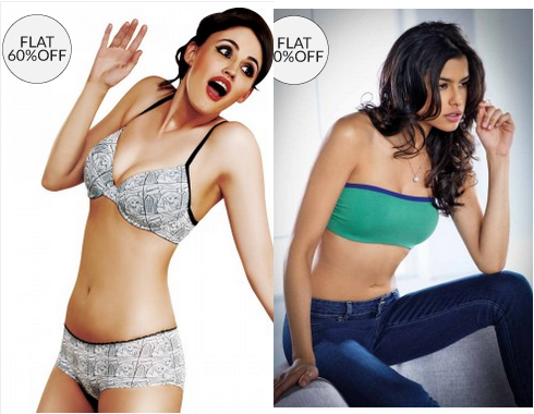 60% off on girls fahionable Bra, Panties, Nightwear & Underwear ...