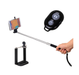 selfie stick with bluetooth remote get off or 25 cashback apr 2017 freeclues. Black Bedroom Furniture Sets. Home Design Ideas